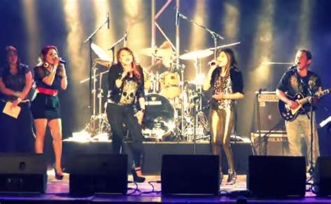 """Marlisa Punzalan Performed """"I'll Be There"""" with Pinoy Rock"""