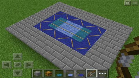 Most awesome carpet design - minecraft pocket edition