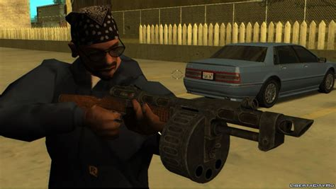 New weapons for GTA San Andreas: 3193 weapon mod for GTA