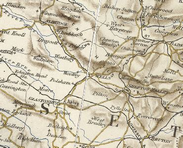 History of Wells, in Mendip and Somerset | Map and description