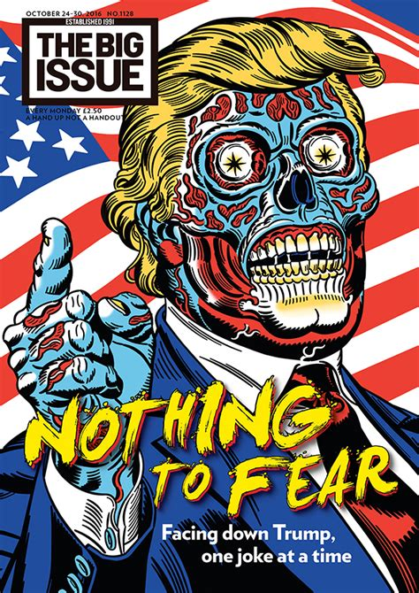 Nothing to fear: Facing down Donald Trump, one joke at a