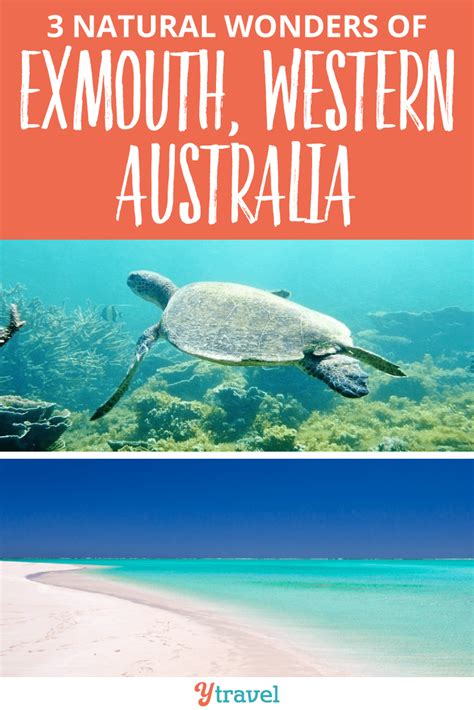 3 Natural Wonders of Exmouth Western Australia