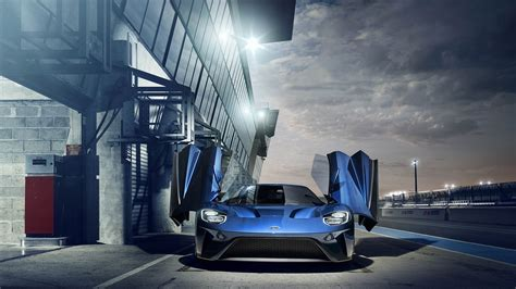 Wallpaper Ford GT, Supercar, 2017 Cars, Ford, 4K