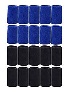 20 Pieces Finger Sleeves Thumb Braces Support Elastic