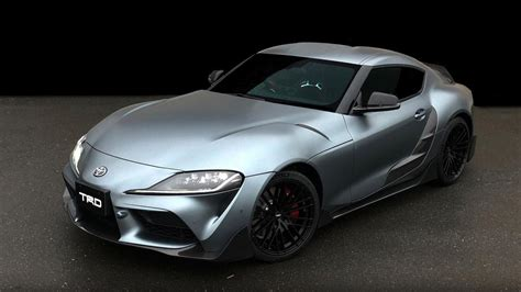 TRD has modified the new Toyota Supra, and this is it