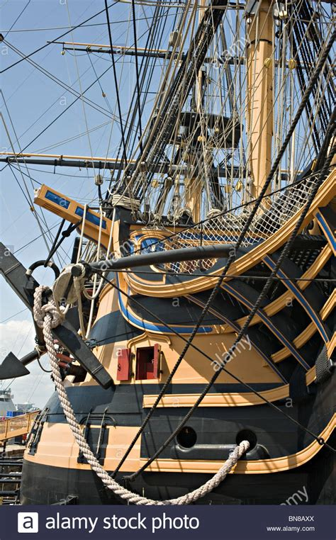 The Royal Navy Warship HMS Victory Lord Nelson's Flagship