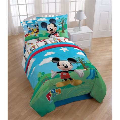 Mickey Mouse Clubhouse 8Piece Bed In A Bag With Sheet Set