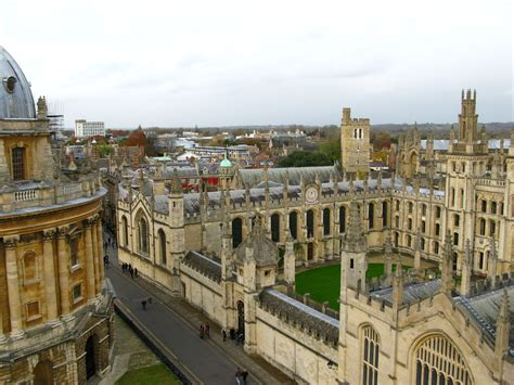 Historical Buildings of Oxford University