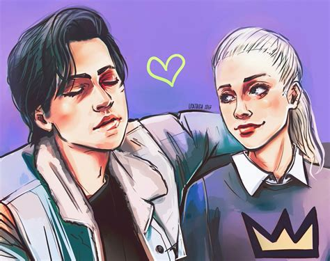 Bughead art discovered by girlfrik on We Heart It