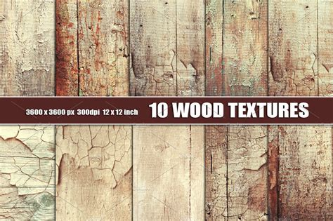 Distressed painted wood texture ~ Textures ~ Creative Market