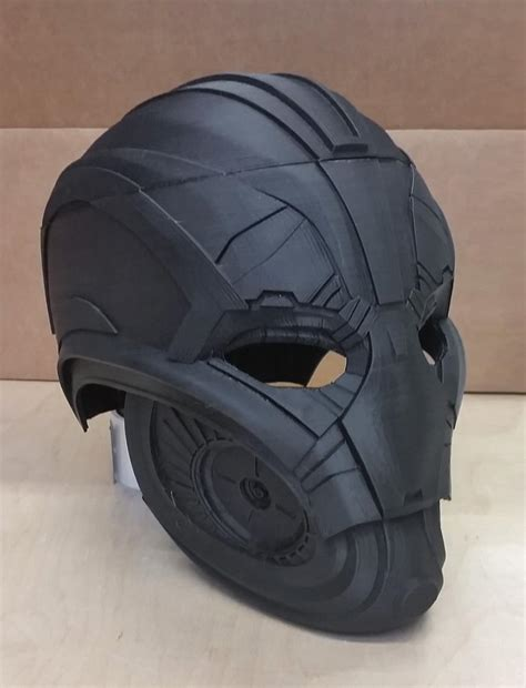 Avengers: Age of Ultron — Cosplay Mask is 3D Printed by