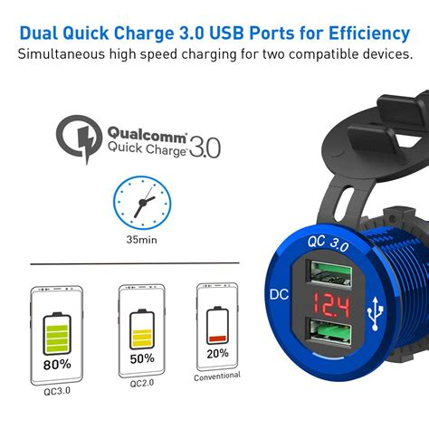 12V KFZ Quick Charge 3