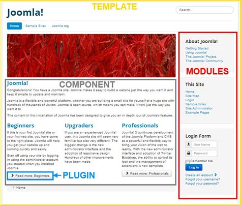 Extension types (general definitions) - Joomla! Documentation