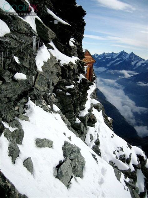 House on Extremely Steep Mountain in Switzerland | Earthly