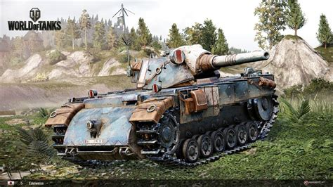 World Of Tanks - Xbox One/PS4 (Edelweiss) Tanque Premium