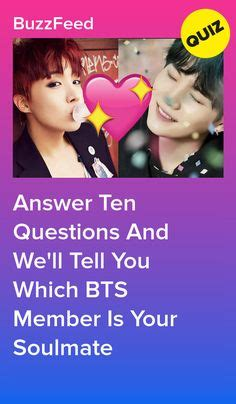 How Well Do You Actually Know BTS? in 2020   Bts soulmate