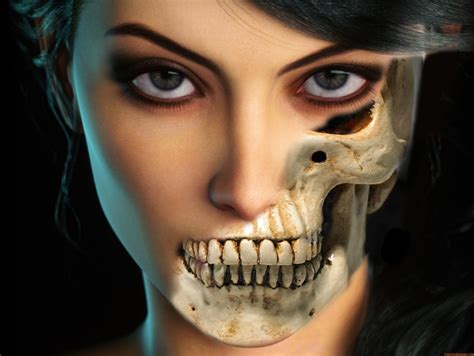 Half Skull Face - Affinity on Desktop Questions (Mac and