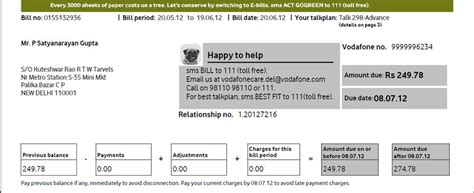 Vodafone Post Paid - re issuing post paid connection to