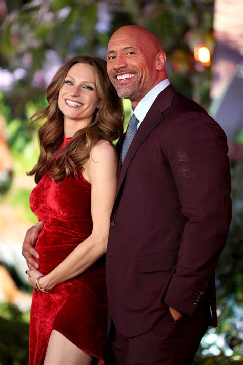 Dwayne Johnson Jokes He'll Name His Baby Girl After His