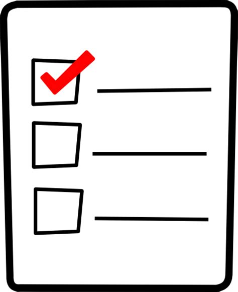 Free Checklists Cliparts, Download Free Clip Art, Free