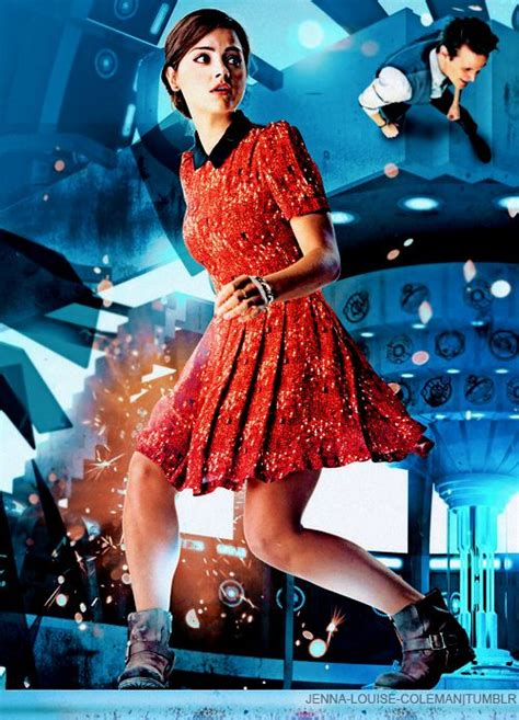 Jenna Louise-Coleman - Journey to the Center of the Tardis