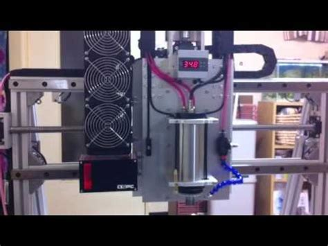CNC Water cooling system spindle 2