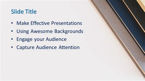 Free Books PowerPoint Template - Free PowerPoint Templates