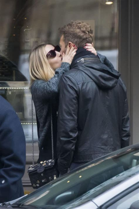 Chris Martin spotted kissing new actress girlfriend