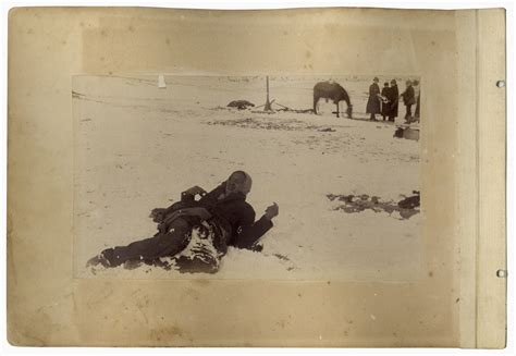 Lot Detail - 52 Photographs of the Wounded Knee Massacre