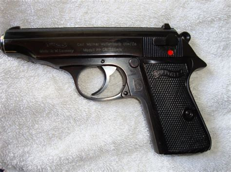 I Have A Walther Pp7