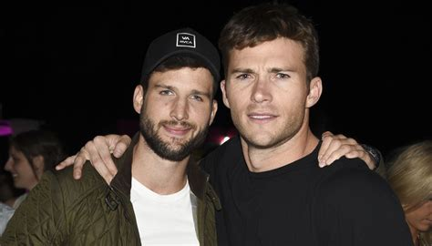 Scott Eastwood Muscles Up at Coachella with Parker Young