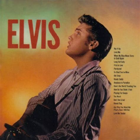 Elvis Presley - Anyplace is Paradise song lyrics from