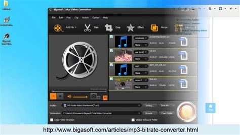 Change/Reduce/Lower/Increase MP3 Bitrate Easily - YouTube
