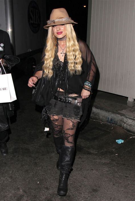 Orianthi Photos - Orianthi Out Late in West Hollywood