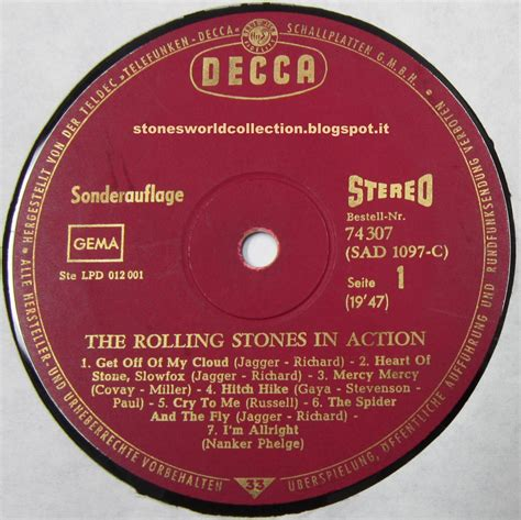 STONESWORLDCOLLECTION : The Rolling Stones in Action