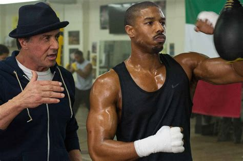 The New Poster & TV Spot For 'CREED' Starring Michael B