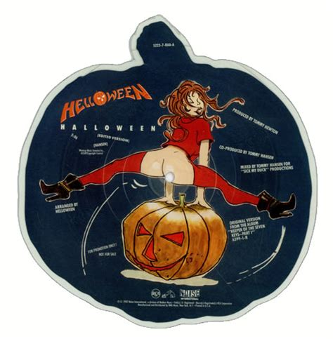 Helloween Halloween US Promo shaped picture disc (picture
