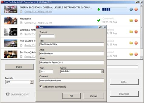 Free YouTube to MP3 Converter | UkeGeeks Project Blog