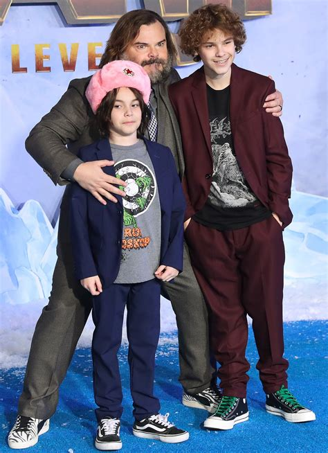 Jack Black Brings Dad and Sons to Jumanji: The Next Level