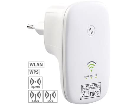 7links Dualband-WLAN-Repeater WLR-750